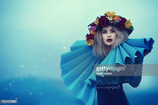 glamour and fairy fashion model