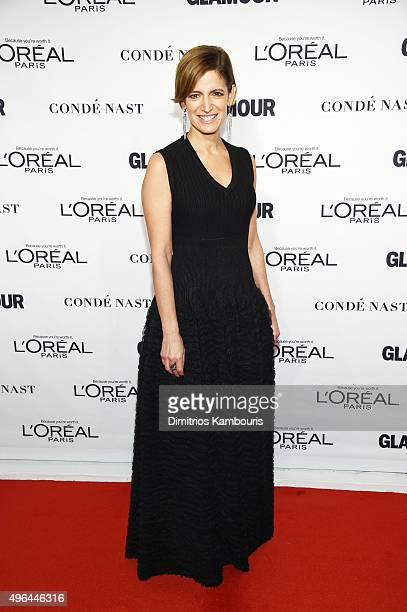 Glamour editor in chief Cynthia Leive attends 2015 Glamour Women Of The Year Awards at Carnegie Hall on November 9 2015 in New York City