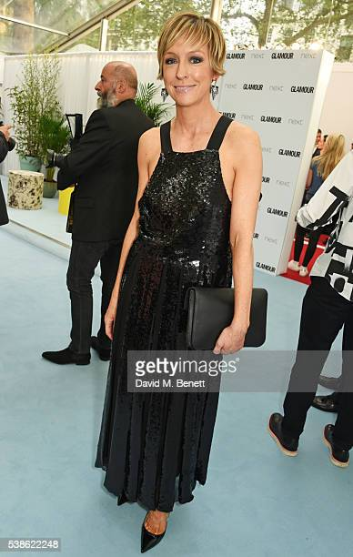 Glamour editor Jo Elvin attends the Glamour Women Of The Year Awards in Berkeley Square Gardens on June 7 2016 in London United Kingdom