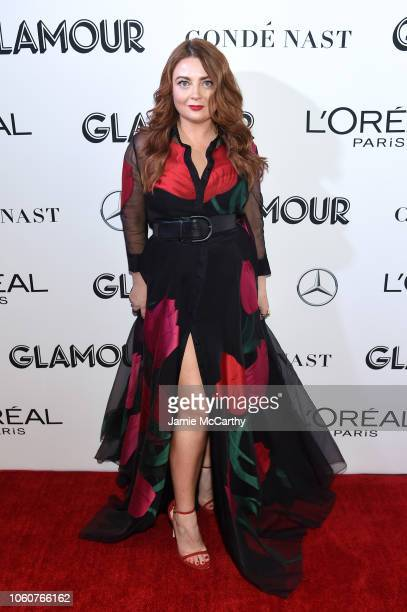 Glamour EditorinChief Samantha Barry attends the 2018 Glamour Women Of The Year Awards Women Rise on November 12 2018 in New York City