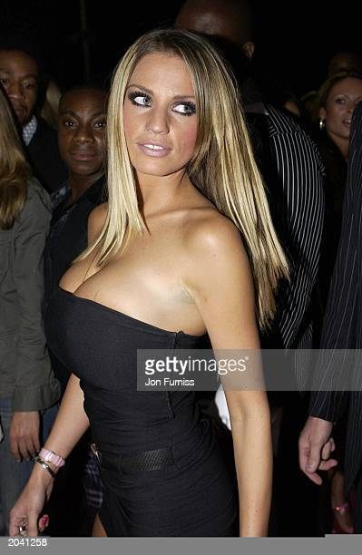 Glamour model Jordan attends the MOBO Awards Music Of Black Origin at The London Arena on October 1 in London England