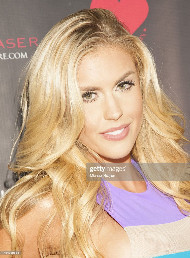 Glamour Model Kayla Rae Reid attends Caroline Burt DJs At Victoria Fuller's 'The Beauty Code: Art Show' at The Redbury Hotel on February 25, 2015 in Hollywood, California.