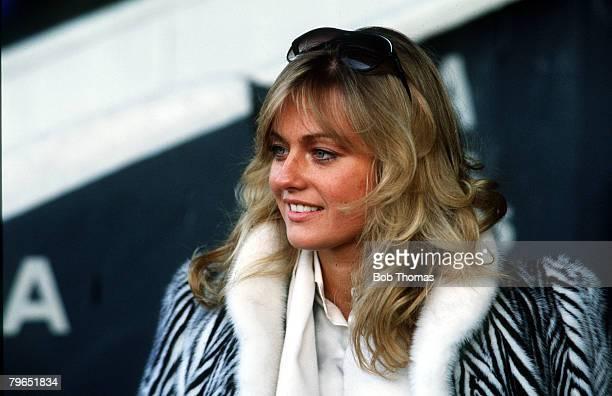 26th March 1983 Former Miss World Mary Stavin then George Best's girlfriend
