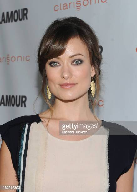 Glamour Reel Moments Director Olivia Wilde arrives at the 2011 Glamour Reel Moments premiere presented by Clarisonic held at the Directors Guild Of...