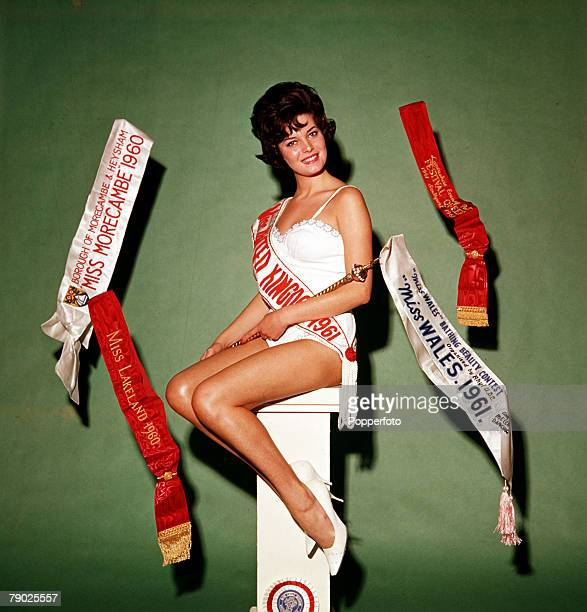 Glamour, Rosemarie Frankland, an 18 year old Lancashire girl, with a 36-22-36 figure, crowned Miss United Kingdom, she went on the win the 1961 Miss...