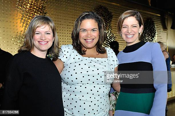 Glamour Washington DC Editor Giovanna Gray Lockhart Facebook Government Politics Outreach Manager Crystal Patterson and Glamour EditorinChief Cindi...
