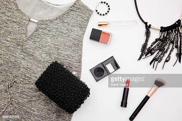 glamour women clothes and accesories. Black and white