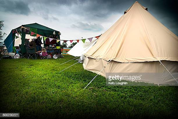 Glamping at the Acoustic Festival of Great Britain Uttoxeter