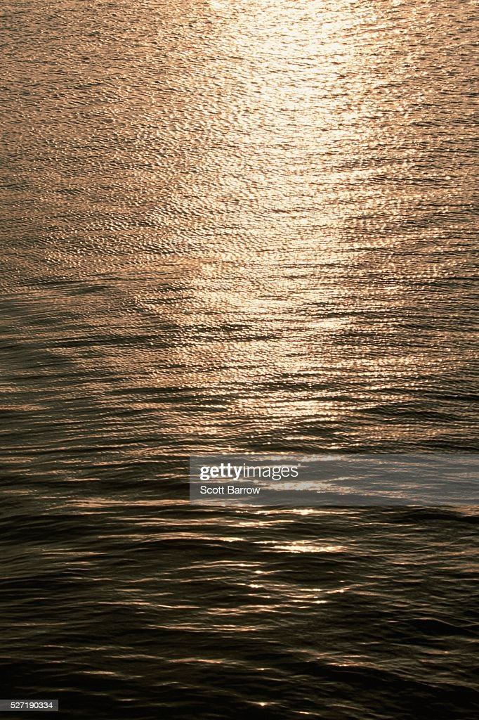 Glare on water : Stock Photo