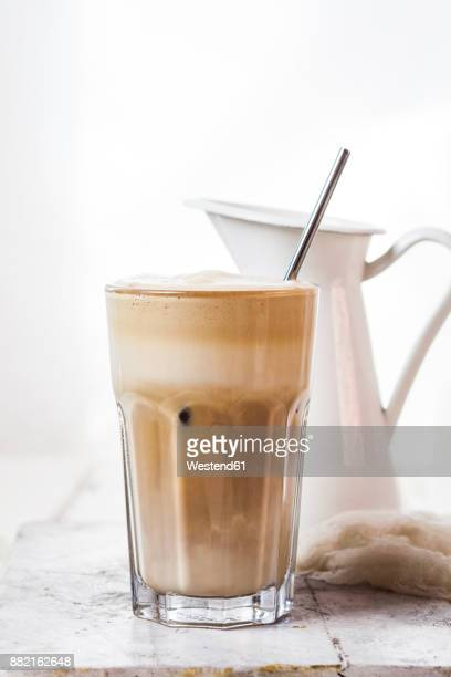 Glas of Cafe Frappe