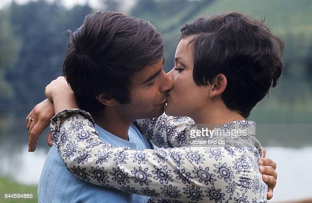 Glas Uschi * Actress Germany and Roy Black