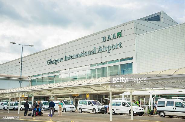 glasgow airport - theasis stock pictures, royalty-free photos & images