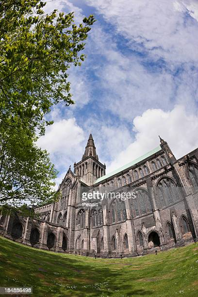 glasgow cathedral - theasis stockfoto's en -beelden