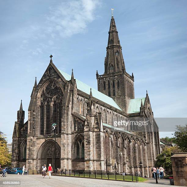 glasgow cathedral - cathedral stock pictures, royalty-free photos & images
