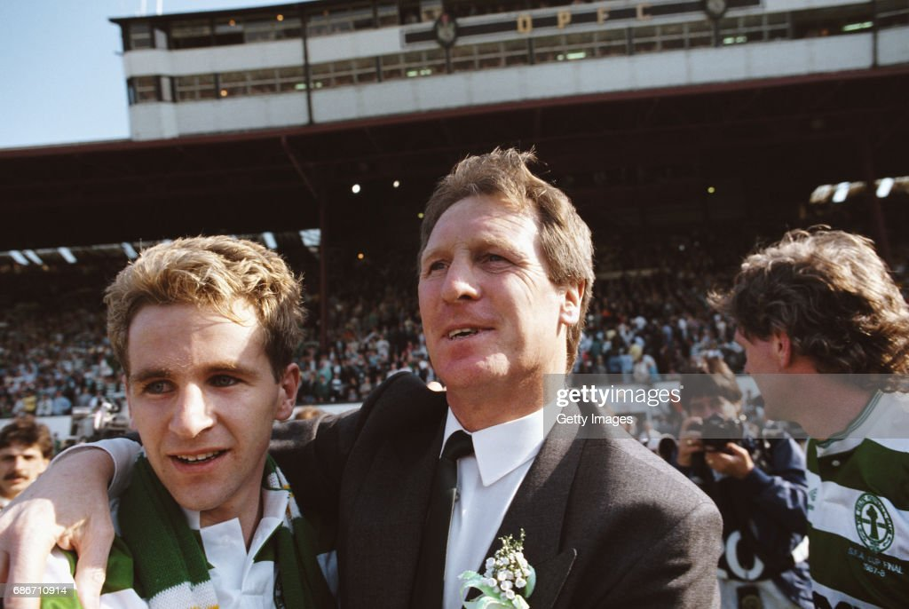 1988 Scottish Cup Final Celtic v Dundee United : News Photo