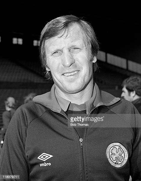 Glasgow Celtic manager Billy McNeill at Parkhead August 1981