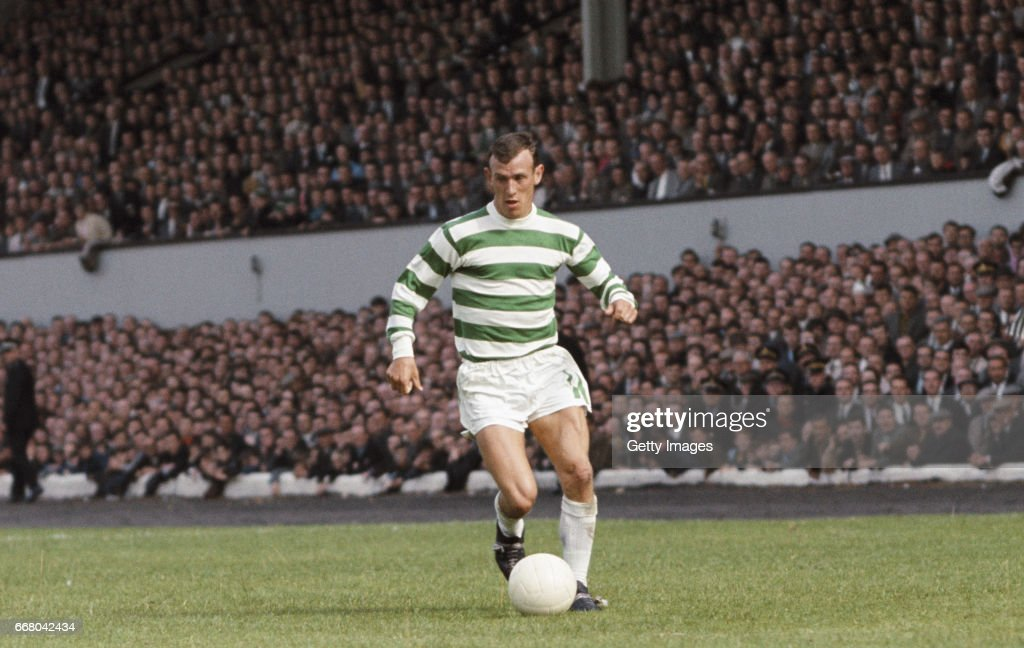 Bobby Lennox Celtic v Tottenham Hotspur Friendly August 1967 : News Photo