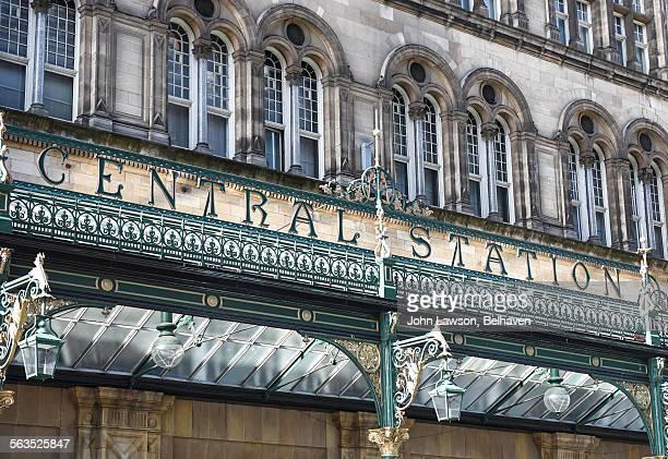 Glasgow Central Station main entrance