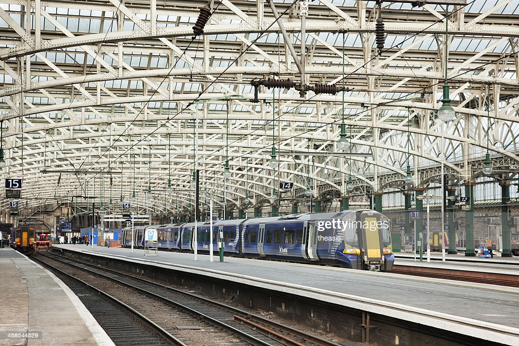 Glasgow Central Station : Stock Photo