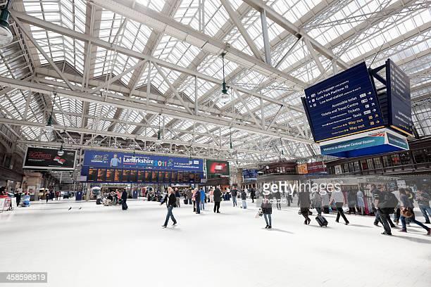 glasgow hauptbahnhof - theasis stock-fotos und bilder
