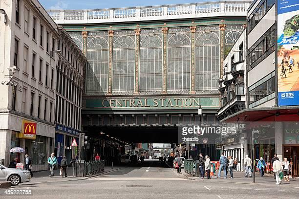 glasgow central station - theasis bildbanksfoton och bilder