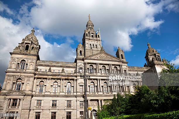 glasgow city chambers - glasgow stock pictures, royalty-free photos & images