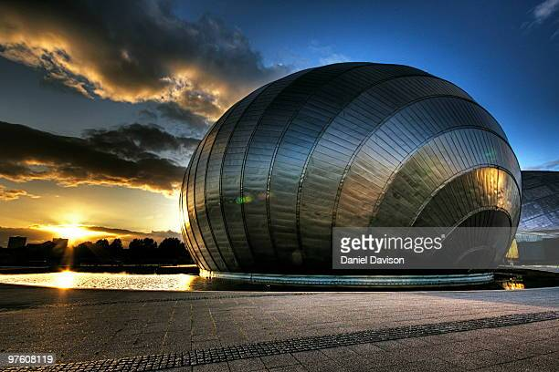Glasgow Imax Sunset