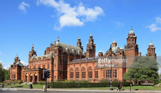 glasgow, kelvingrove art gallery & museum - kelvingrove art gallery and museum stock pictures, royalty-free photos & images