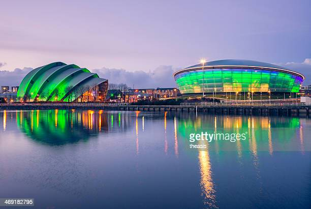 secc, glasgow - glasgow stock pictures, royalty-free photos & images