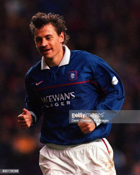 Glasgow Rangers' Andrei Kanchelskis during a Scottish cup football match against Stenhousemuir at the Ibrox Stadium in Glasgow 25/01/01 Manchester...