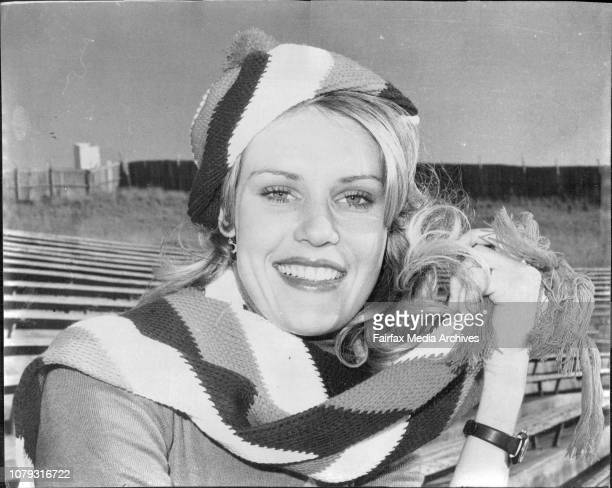 Glasgow Rangers Supporter Pretty 18 year old Glasgow Rangers soccer supporter Miss Kerry Crimmins of Cremorne went along to the first training run of...