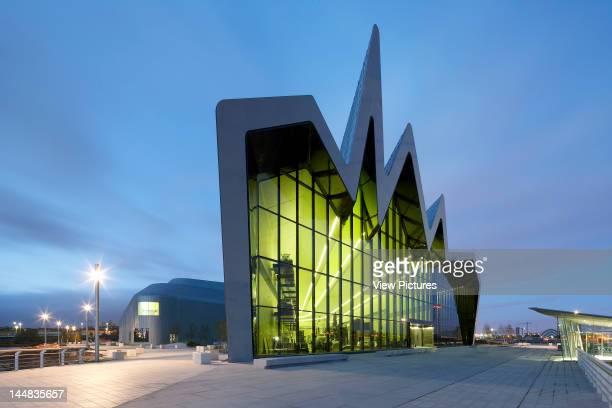 Glasgow Riverside Museum Of Transport 100 Pointhouse Place Glasgow G3 8Rs United Kingdom Architect Zaha Hadid Architects Glasgow Riverside Museum Of...