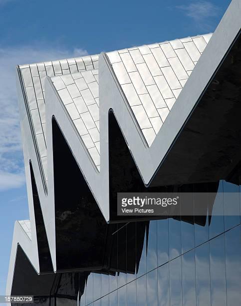 Glasgow Riverside Museum Zaha Hadid Architects Exterior Facade Detail Zaha Hadid Architects United Kingdom Architect