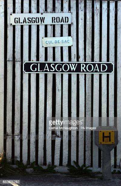 Glasgow Road in Stanley Falkland Islands
