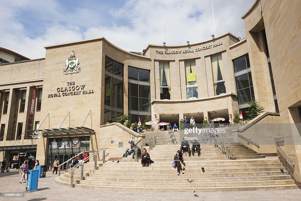 Glasgow Royal Sala de Concertos : Foto de stock