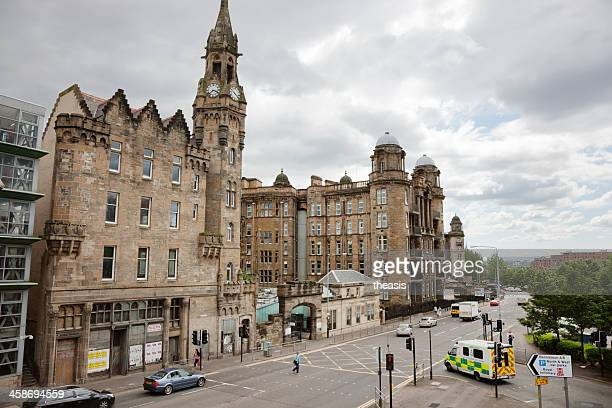 glasgow royal infirmary - royal stock photos and pictures