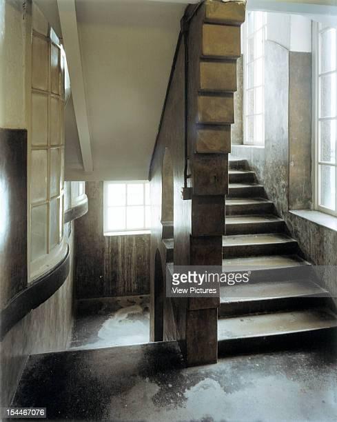 Glasgow School Of Art Glasgow United Kingdom Architect Charles Rennie Mackintosh Glasgow School Of Art East Staircase