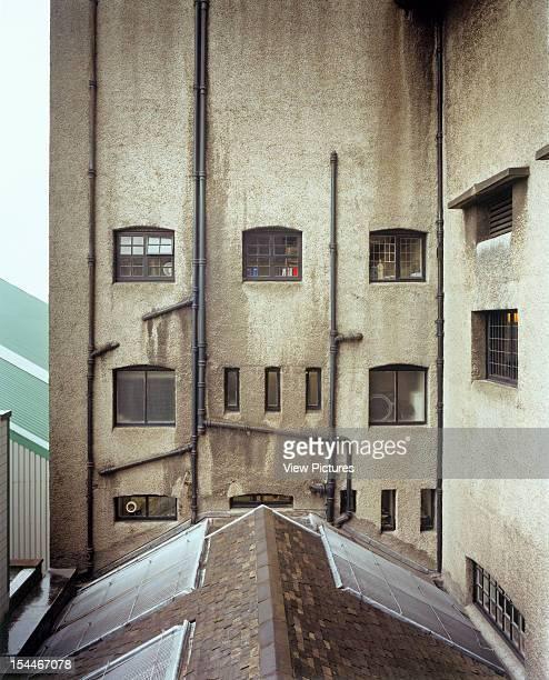 Glasgow School Of Art Glasgow United Kingdom Architect Charles Rennie Mackintosh Glasgow School Of Art Rear Elevation
