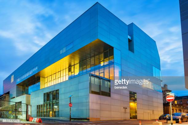 glasgow school of art reid building in glasgow scotland uk - strathclyde stock pictures, royalty-free photos & images
