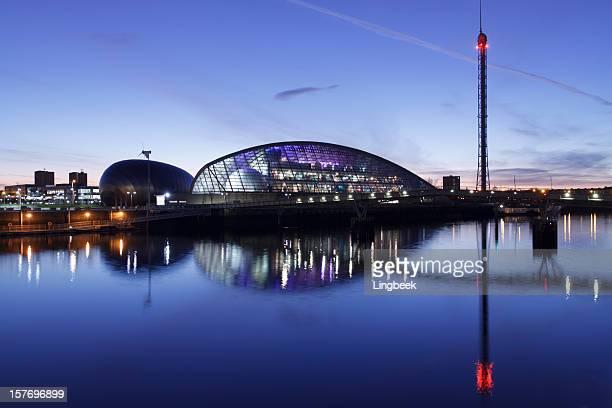Glasgow Science Centre, le long de la rivière Clyde