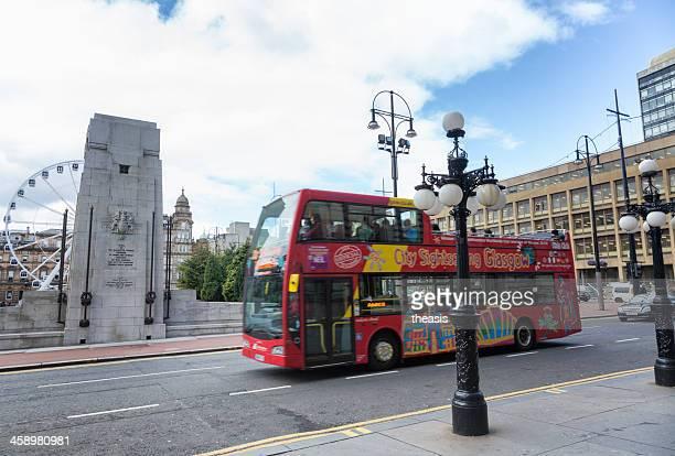 Glasgow Sightseeing Tour Bus