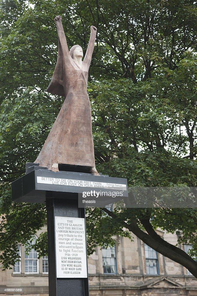 Glasgow Spanish Civil War Memorial : Stock Photo