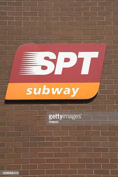 Glasgow Subway Sign