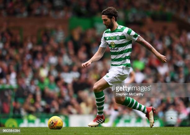 Glasgow United Kingdom 20 May 2018 Charlie Mulgrew of Celtic during Scott Brown's testimonial match between Celtic and Republic of Ireland XI at...