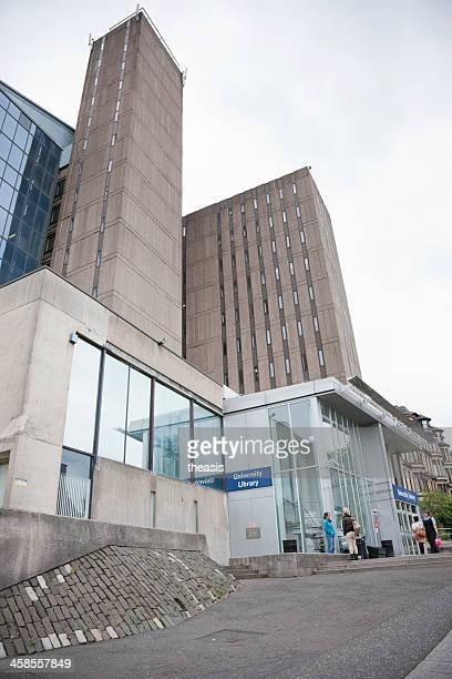 glasgow university library - strathclyde stock pictures, royalty-free photos & images