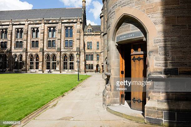 glasgow university - midwifery building - theasis stock pictures, royalty-free photos & images