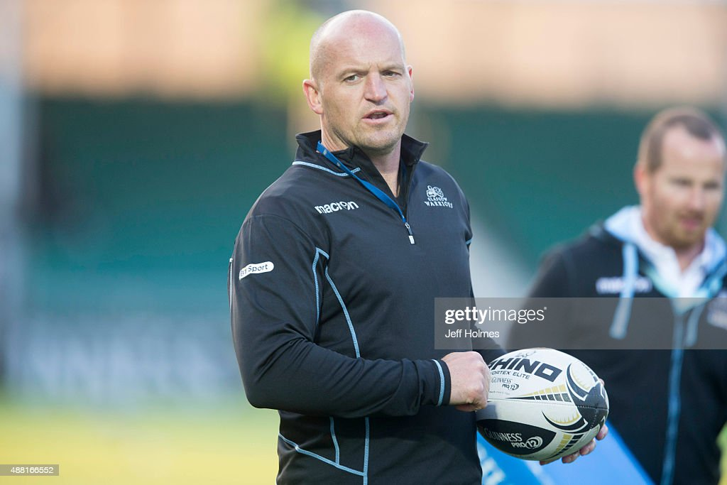 Glasgow Warriors v Connaght - Guinness PRO12 : News Photo