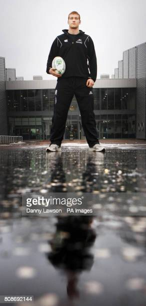 Glasgow Warriors Robert Harley during a photocall at Ravenscraig Regional Sports Facility in Motherwell