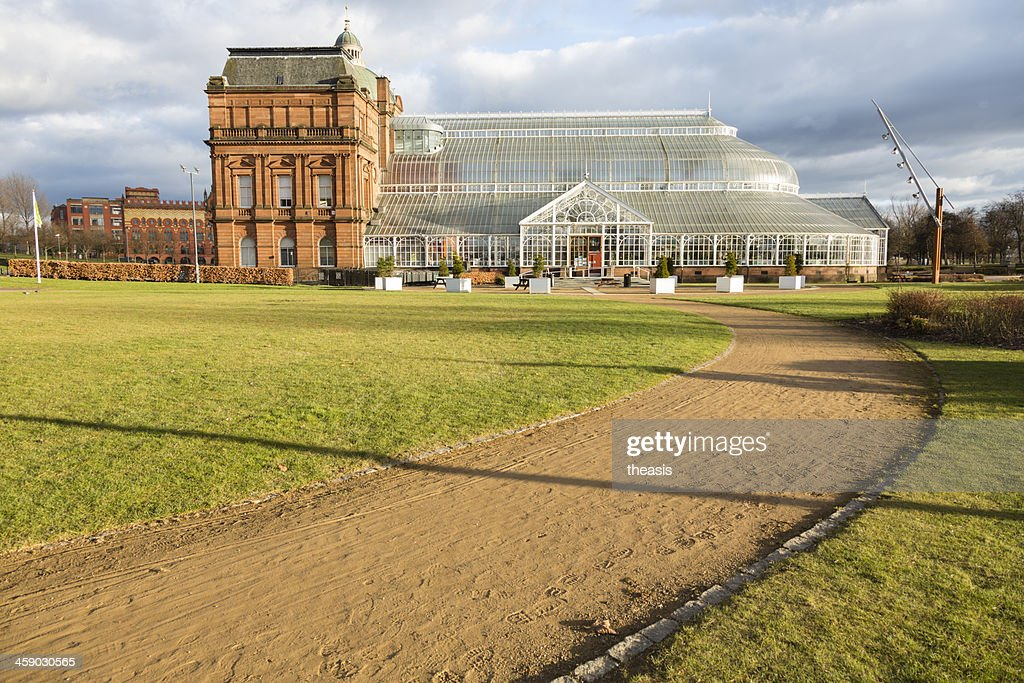 Glasgow Winter Gardens and People's Palace : Stock Photo