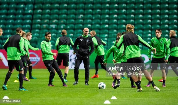 Borussia Monchengladbach manager Andre Schubert.